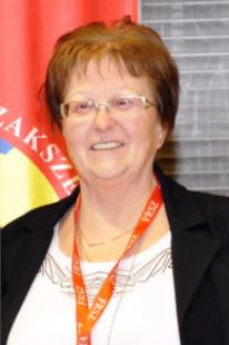 Seresné Kiss Éva, megyei elnök