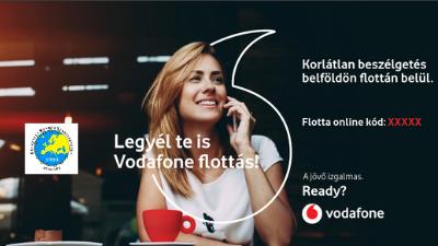 Legyél Te is Vodafone flottás! Új promóciós Vodafone FRSZ tarifacsomagok!
