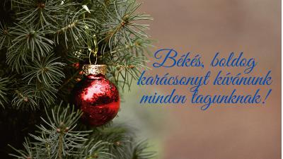 Karácsonyi FRSZ üdvözlet