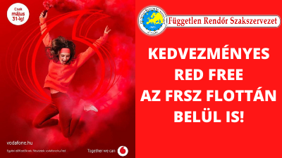 Kedvezményes RED Free az FRSZ flottán belül is!